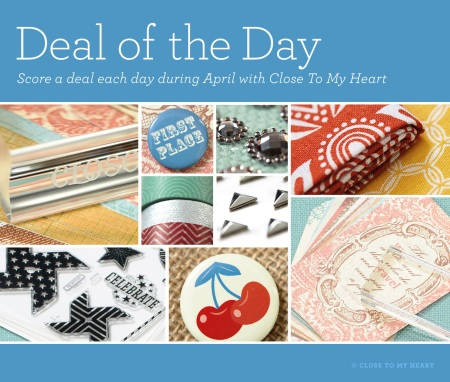 April Deal of the Day
